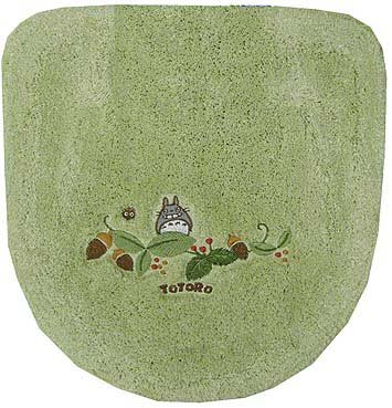 Ghibli - Totoro - Toilet Lid Cover - Toilet Lid Cover - Washlets - green - 2007 (new)