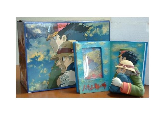 Ghibli - Howl's Moving Castle - Howl & Sophie - Big Photo Frame - VERY RARE - SOLD OUT (new)