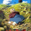 Movie Theater Pamphlet 2004 - Howl's Moving Castle - Ghibli (used)