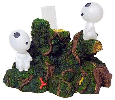 SOLD - Small Vase  - Kodama - Mononoke - Ghibli - 2007 - out of production (new)