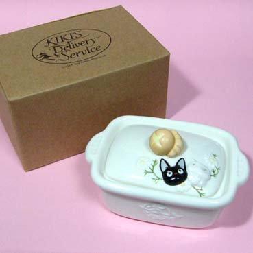 Container - Ceramics - Jiji & Lily - Kiki's Delivery Service - Ghibli - 2007 (new)