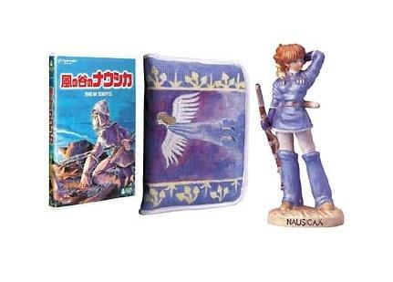 Nausicaa Figure Set - Nausicaa Figure & DVD & Case - out of production (new)