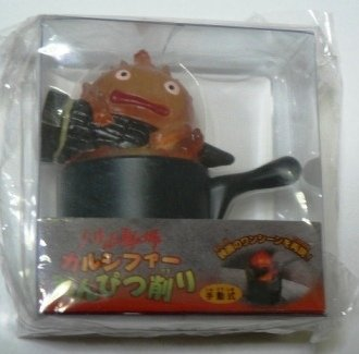 Ghibli - Howl's Moving Castle - Pencil Sharpener - Calcifer Figure -outofproduction-RARE-SOLD(new)
