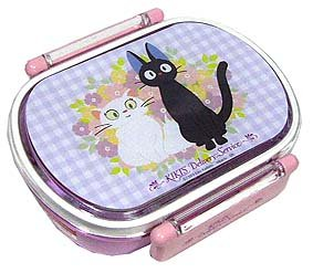 Lunch Bento Box - Jiji & Lily - Kiki's Delivery Service - made in Japan - out of production (new)
