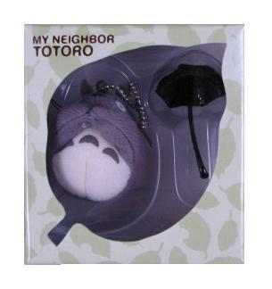 Ghibli - Totoro & Umbrella - Mascot - Chain Strap Holder - out of production - RARE - SOLD (new)