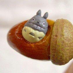 Strap Holder Holder - Rattle - Totoro & Kurosuke in Acorn - Ghibli - 2007 (new)