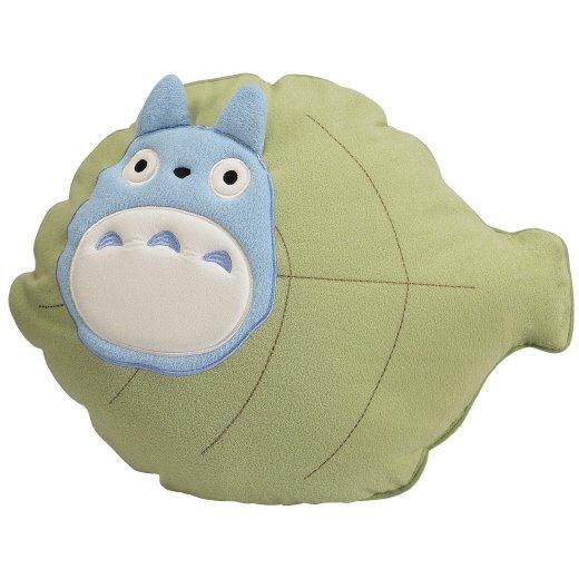 1 left - Cushion - 38x50cm - Leaf - Totoro - Ghibli - 2007 - no production (new)