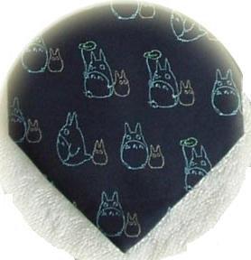 Ghibli - Chu & Sho Totoro - Necktie - Silk - Jacquard - umbrella - navy - 2007 - 2 left (new)
