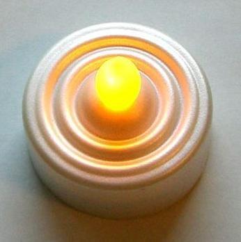LED Light for Tealight - moves like a real frame (new)