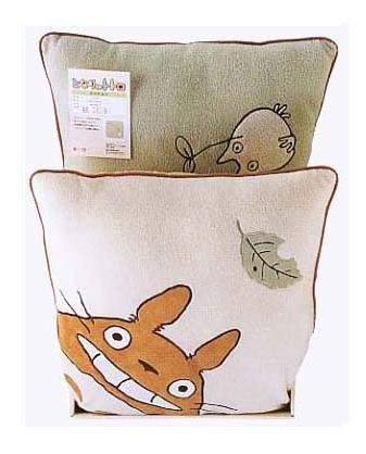 Ghibli - Totoro & Sho Totoro - 2 Cushion Set - 45x45cm -outofproduction-RARE-SOLD OUT(new)