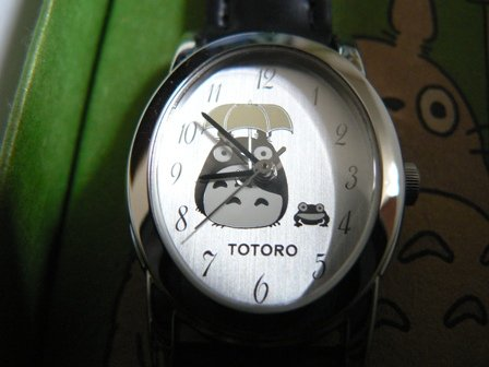 Ghibli - Totoro & Frog - Wrist Watch - Seiko - silver - 31%OFF - SOLD OUT (new)