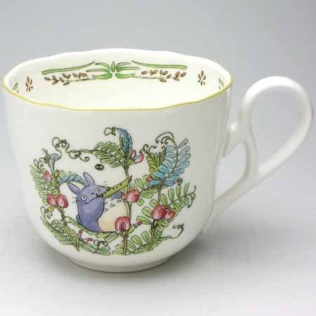 Cup (S) - Bone China - Noritake #1 - Totoro - Ghibli (new)