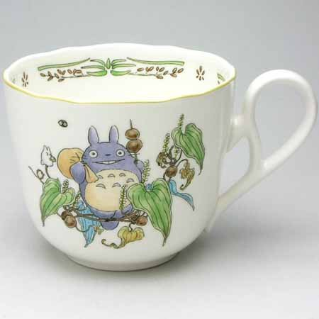 Cup (S) - Bone China - Noritake #2 - Totoro - Ghibli (new)