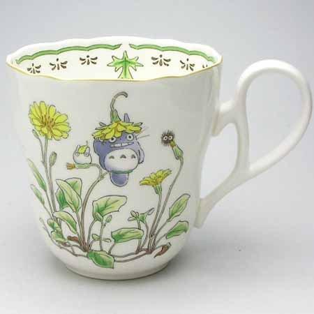 Cup - Bone China - Noritake #3 - Totoro - Ghibli (new)