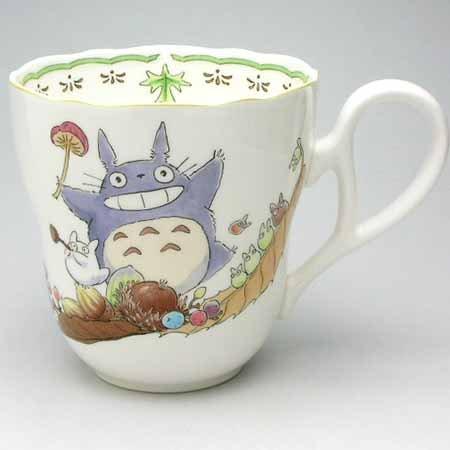 Cup - Bone China - Noritake #2 - Totoro - Ghibli (new)