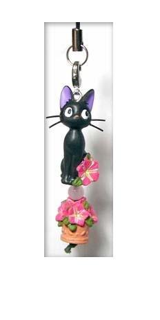 Hook & Strap Holder - Natural Rose Quartz - petunia - Jiji - Kiki's Delivery Service - Ghibli - 2008 (new)