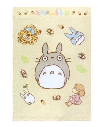 Ghibli - Totoro - Towel Blanket - 85x120cm - Cotton - memory - 2008 (new)