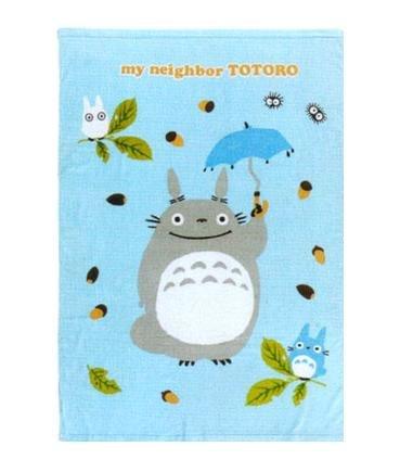 Towel Blanket - 100x140cm - Cotton - samidare - Totoro & Chu & Sho & Kurosuke - Ghibli - 2008 (new)