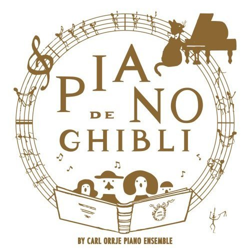 CD - Piano de Ghibli - Studio Ghibli Works Piano Collection - 2008 (new)