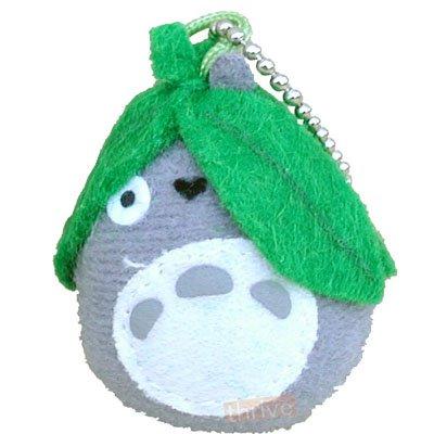 1 left - Mascot - Chain Strap Holder - Totoro & Leaf - Sun Arrow - 2008 - no production (new)