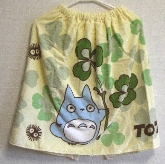 Wrapping Towel - 60x120cm - Chu Totoro & Kurosuke - Ghibli - 2008 (new)