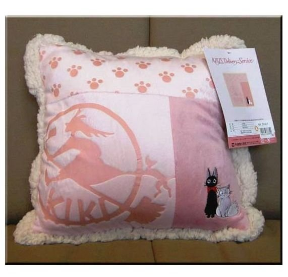 1 left - Cushion (S) - 30x30cm - Jiji & Lily - Kiki's Delivery Service - 2008 - no production (new)