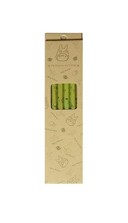 Ghibli - Totoro - 6 Pencil in Case Set - HB - out of production - RARE - SOLD OUT (new)