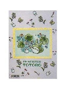 Ghibli - Totoro - Clear Pencil Board / Shitajiki (3) - out of production - RARE- SOLD OUT (new)