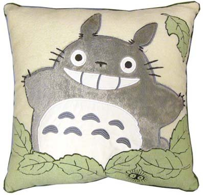 Cushion - 45x45cm - Totoro - Ghibli - 2008 (new)