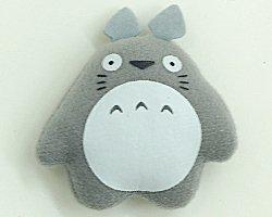 Magnet - Mascot - gray - Totoro - Ghibli - Sun Arrow (new)