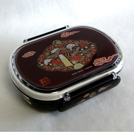 Ghibli- Spirited Away - Kaonashi Bounezumi Haedori - Lunch Bento Box-outofproduction-RARE-SOLD(new)
