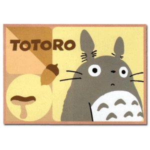 Ghibli - Totoro & Sho - Blanket (S) 70x100cm -Acrylic&Polyester&Carving-2008-outproduction(new)