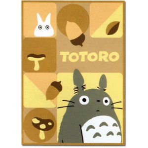 Blanket (M)100x140cm- Acrylic & Polyester & Carving - Totoro -2008- out of production (new)