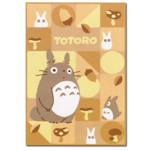 Ghibli - Totoro & Sho Totoro - Blanket (L) 140x200cm - Acrylic & Polyester & Carving -2008-SOLD(new)