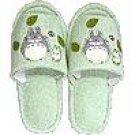 Slipper - Applique - green - Totoro & Sho Totoro & Kurosuke - Ghibli - 2008 (new)