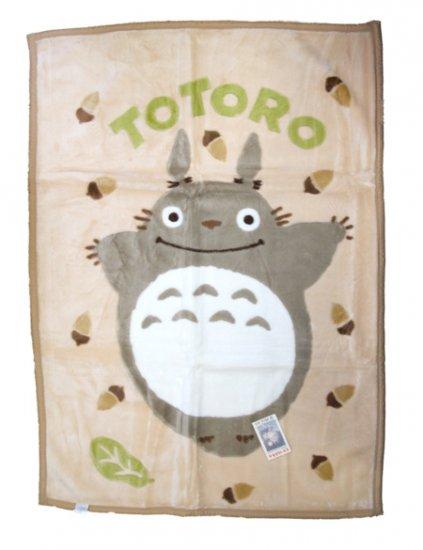 Ghibli - Totoro - Blanket (M) 100x140cm -Acrylic & Carving-Omajinai-outofproduction-RARE-SOLD(new)