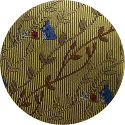 Ghibli - Totoro - Necktie - Silk - Jacquard - fire - yellow - made in Japan - 2008 (new)
