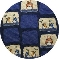Ghibli - Totoro - Necktie - Silk - space - navy - made in Japan - 2008 (new)
