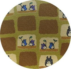 Ghibli - Totoro - Necktie - Silk - space - yellow - made in Japan - 2008 - 1 left (new)