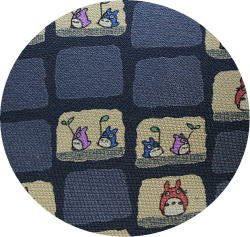 Ghibli - Totoro - Necktie - Silk - space - gray - made in Japan - 2008 - 2 left (new)