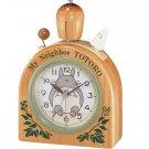 25% OFF - Wooden Bell Alarm Clock - Quartz Citizen - Totoro & Sho Totoro - Ghibli (new)