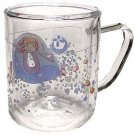 1 left- Glass Mug Cup - 2 Layers Heat Resistance - Microwave- Jellyfish - Ponyo - no production(new)