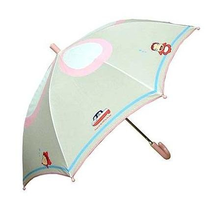Ponyo & Ponponsen - Kid's Umbrella - handle pink - Ghibli - Sun Arrow - 2008 (new)