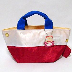 Ponyo & Ponponsen shaped Tote Bag (M) - Ghibli - 2008 (new)