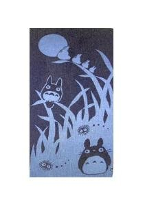 Bath Towel - made in Japan - night - Totoro - Ghibli - 2008 (new)