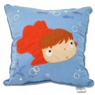 1 left - Cushion - 30x30cm - Applique - Ponyo - Ghibli - 2009 - no production (new)