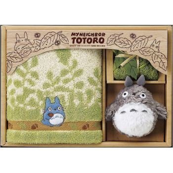 Towel Gift Set - Mini Towel & Hand Towel & Mascot - Totoro - Ghibli - 2009 (new)