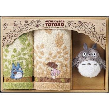Towel Gift Set - Hand Towel & Face Towel & Mascot - Totoro - Ghibli - 2009 (new)