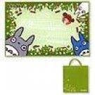 Outdoor Leisure Sheet 90x140cm & Tote Bag 30x32cm - Totoro & Chu & Sho & Mei - Ghibli (new)
