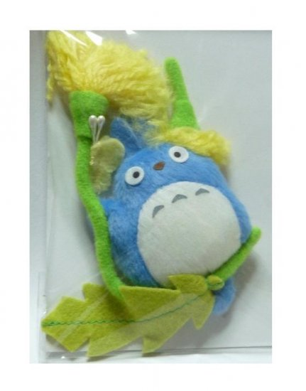 SOLD - Magnet Mascot - Chu Totoro on Dandelion & Butterfly - out of production (new)